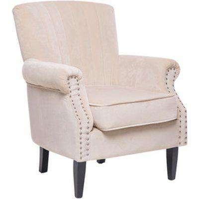 Wingback Armchair - Cream