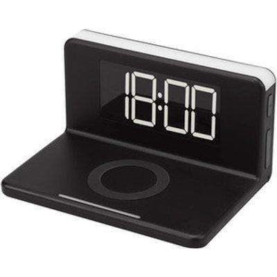 Wireless Charging LED Alarm Clock