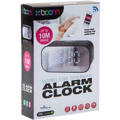 Wireless Speaker Alarm Clock