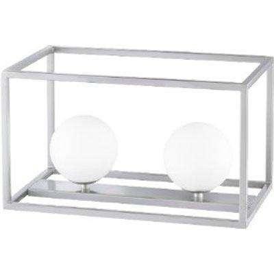 Wofi Aurelia Table Lamp Nickle - 2