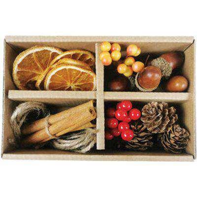 Red Wreath Decoration Box