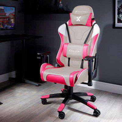X Rocker Agility Esport Gaming Chair - Cherry