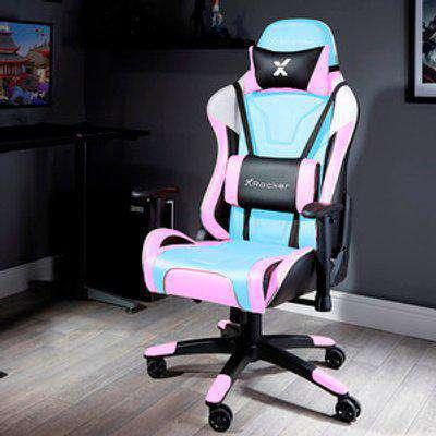 X Rocker Agility Esport Gaming Chair - Bubblegum