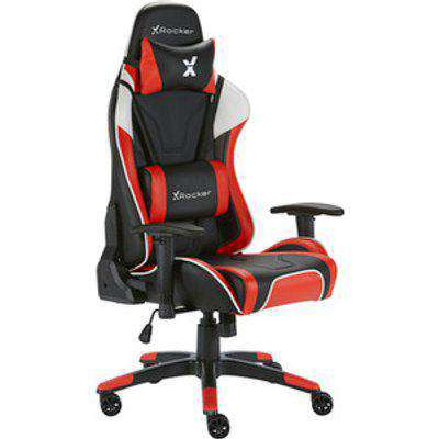 X Rocker Agility Sport Gaming Chair - Red