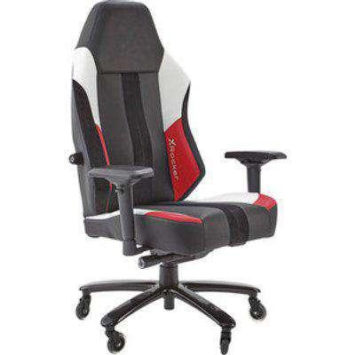 X Rocker Echo Esports Gaming Chair - Red/White