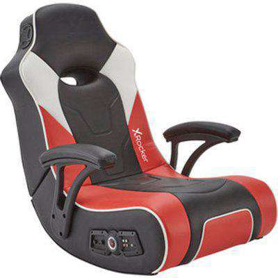 X Rocker G-Force Sport 2.1 Stereo Audio Gaming Chair - Red/Black