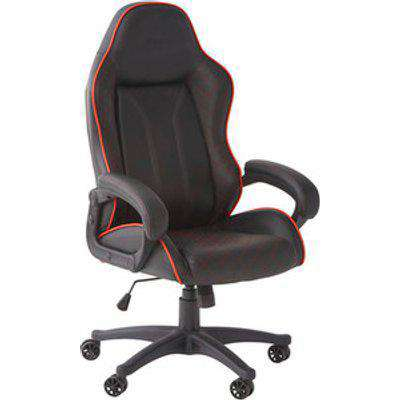 X Rocker Maelstrom Office Gaming Chair - Black/Red