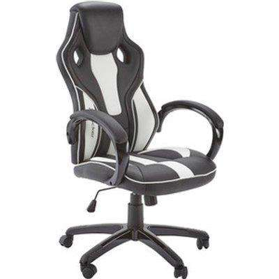 X Rocker Maverick Office Gaming Chair - Black/White
