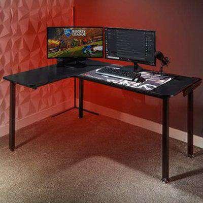 X Rocker Panther Left  L-Shape Corner Gaming Desk