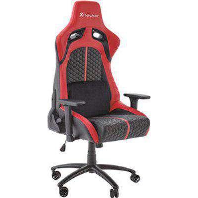 X Rocker Stinger Esports Gaming Chair - Red/Black