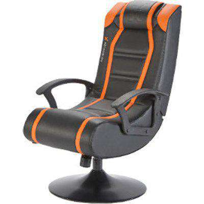 X Rocker Veleno 2.1 Wired Pedestal Chair - Orange