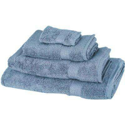 Zero Twist Bath Sheet - Allure Blue