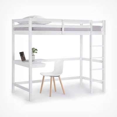 Pine Study Bunk Bed