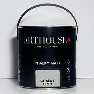 Chalky Matt Paint 2.5l Chalky Grey Arthouse 1210