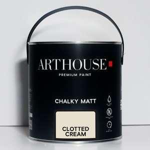 Chalky Matt Paint 2.5l Clotted Cream Arthouse 1201