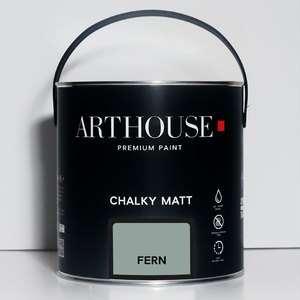 Chalky Matt Paint 2.5l Fern Arthouse 1203