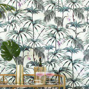 Elysian Wallpaper Palms Green Witch and Watchman WW-EPG-WP