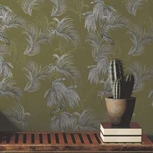 Ted's Enchanted Collection Horizon Wallpaper Ochre, Ted Baker 12498