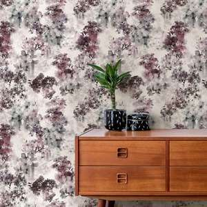 Ted's Enchanted Collection Vanilla Wallpaper Blush, Ted Baker 12488